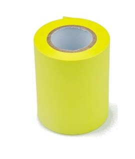 Conf.6 Rotoli giallo neon per MEMOIDEA Tape Dispenser