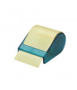 MEMOIDEA Tape Dispenser con rotolo giallo pastello