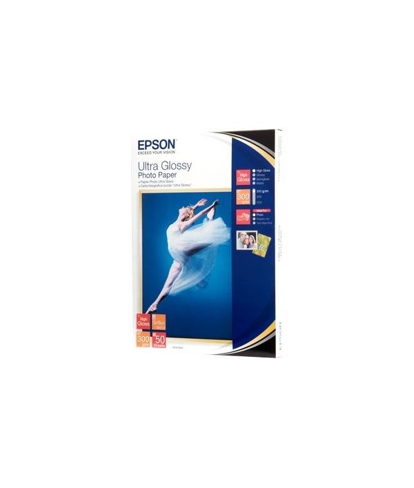 Carta fotografica lucida ultra epson 13x18 cm for Carta fotografica epson
