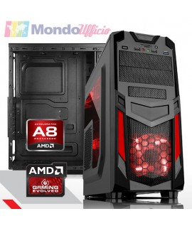 PC Computer GAMING AMD A8-7680 Quad Core - Ram 16 GB - HD 2 TB - WI-FI