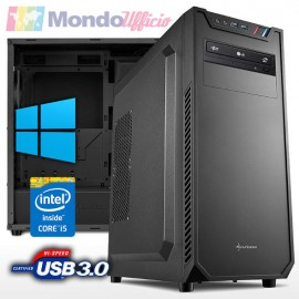 PC linea OFFICE Intel i5 8400 4,00 Ghz 6 Core - Ram 16 GB DDR4 - SSD M.2 250 GB - HD 2 TB - Windows 10 Professional