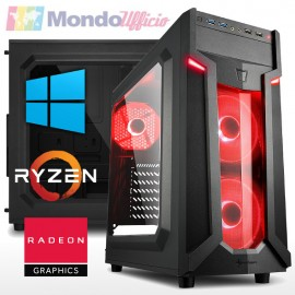 PC GAMING AMD RYZEN 3 3200G 4,00 Ghz - Ram 16 GB DDR4 - SSD 480 GB - HD 1 TB - WI-FI - DVD - Windows 10 Pro