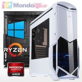 PC GAMING AMD RYZEN 3 3200G 4,00 Ghz - Ram 16 GB DDR4 - SSD 480 GB - WI-FI - DVD - Windows 10 Professional