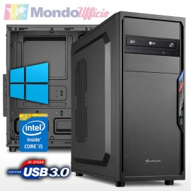 PC linea OFFICE Intel i5 9400 6 Core - Ram 16 GB DDR4 - SSD 480 GB - HD 1 TB - Windows 10 Professional