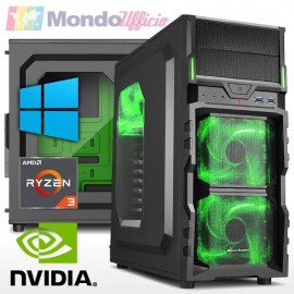 PC GAMING AMD RYZEN 3 3100 3,90 Ghz - Ram 16 GB - SSD M.2 500 GB - nVidia GTX 1650 SUPER 4 GB - Windows 10 Pro