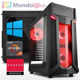 PC GAMING AMD RYZEN 5 3400G 4,20 Ghz - Ram 16 GB DDR4 - SSD M.2 250 GB - WI-FI - Windows 10 Professional