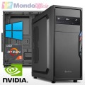 PC linea OFFICE AMD RYZEN 5 3600 - Ram 16 GB - SSD M.2 500 GB - HD 2 TB - nVidia GT 1030 2 GB - Windows 10 Pro
