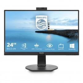 "Philips B Line 241B7QUBHEB 00 LED display 60,5 cm (23.8"") 1920 x 1080 Pixel Full HD Nero"