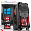 PC Linea GAMING AMD A8 9600 3,40 Ghz Quad Core - Ram 16 GB - SSD M.2 500 GB - HD 2 TB - WI-FI - Windows 10 Pro
