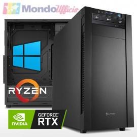 PC Linea WORKSTATION AMD RYZEN 9 5900X - Ram 32 GB - SSD M.2 1 TB - HD 3 TB - nVidia RTX 2060 6 GB - Windows 10 Pro