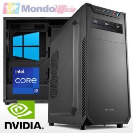 PC linea OFFICE Intel i9 10900 - Ram 16 GB - SSD M.2 512 GB - HD 2 TB - nVidia GT 1030 - Wi-Fi - Windows 10 Pro