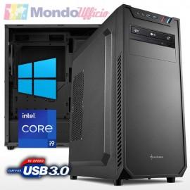 PC linea OFFICE Intel i9 10900 10 Core 5,20 Ghz - Ram 16 GB DDR4 - SSD M.2 512 GB - HD 2 TB - Windows 10 Pro