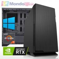 PC linea WORKSTATION AMD Ryzen 7 5800X - Ram 32 GB - SSD M.2 1 TB - HD 4 TB - nVidia RTX 3070 8 GB - Windows 10 Pro