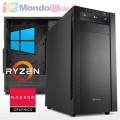 PC linea WORKSTATION AMD Ryzen 7 5800X - Ram 32 GB - SSD M.2 1 TB - HD 3 TB - ATI RX 6700 XT 12 GB - Windows 10 Pro