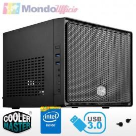 PC linea MINI Intel i3 10100 4,30 Ghz - Ram 16 GB DDR4 - SSD M.2 500 GB - HD 2 TB - USB 3.2 - Windows 10 Pro