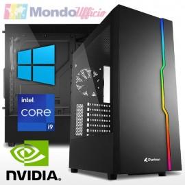 PC linea GAMING Intel i9 11900F - Ram 32 GB - SSD M.2 500 GB - HD 2 TB - Wi-Fi - nVidia GTX 1660 SUPER 6 GB - Windows 10 Pro
