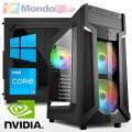 PC linea GAMING Intel i3 10100F - Ram 16 GB - SSD M.2 500 GB - HD 2 TB - Wi-Fi - nVidia GTX 1050Ti 4 GB - Windows 10 Pro