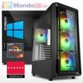 PC GAMING AMD RYZEN 3 4300GE 4,00 Ghz - Ram 32 GB DDR4 - SSD M.2 1 TB - WI-FI - Windows 10 Professional