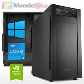 PC linea WORKSTATION Intel i5 10400F 6 Core - Ram 32 GB - SSD M.2 1 TB - Quadro P2200 5 GB - Windows 10 Pro