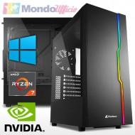 PC GAMING AMD RYZEN 7 3700X 8 Core - Ram 16 GB - SSD M.2 500 GB - HD 2 TB - nVidia GTX 1650 4 GB - Windows 10 Pro
