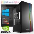 PC GAMING AMD RYZEN 7 3700X 8 Core - Ram 16 GB - SSD M.2 1 TB - nVidia GTX 1650 4 GB - Windows 10 Professional