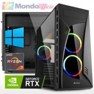 PC GAMING AMD RYZEN 7 5800X 8 Core - Ram 32 GB - SSD M.2 1 TB - HD 4 TB - nVidia RTX 3070Ti 8 GB - Windows 10 Pro
