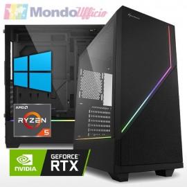 PC GAMING AMD RYZEN 5 5600X 4,60 Ghz - Ram 16 GB - SSD M.2 1 TB - HD 2 TB - nVidia RTX 3060Ti 8 GB - Windows 10 Pro