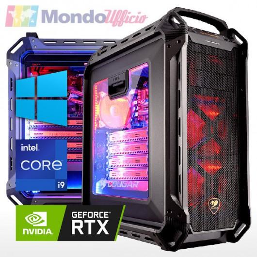 PC linea GAMING Intel i9 11900K - Ram 64 GB - SSD M.2 1 TB - HD 4 TB - Wi-Fi - nVidia RTX 3090 24 GB - Windows 10 Pro