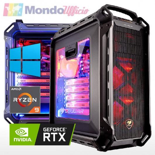 PC GAMING AMD RYZEN 9 5950X 16 Core - Ram 64 GB - SSD M.2 1 TB 980 - HD 4 TB - nVidia RTX 3080Ti 12 GB - Windows 10 Pro