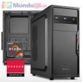 PC linea OFFICE AMD RYZEN 5 5600G 4,40 Ghz - Ram 16 GB DDR4 - SSD M.2 256 GB - DVD - Card reader