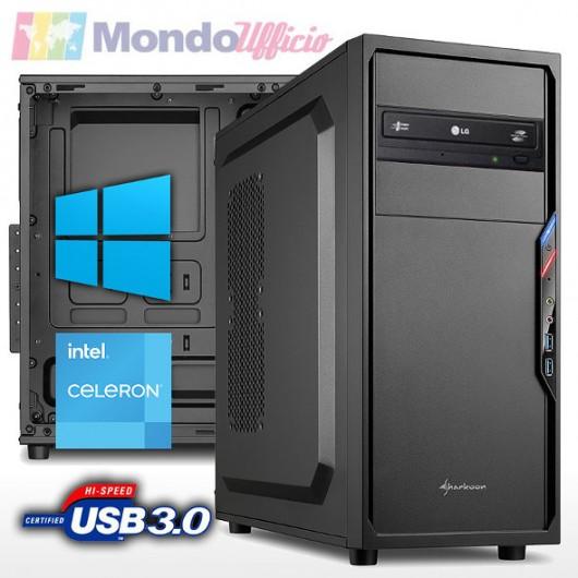PC linea OFFICE Intel G5905 3,50 Ghz - Ram 16 GB DDR4 - SSD M.2 500 GB - HD 2 TB - DVD - Windows 10 Professional