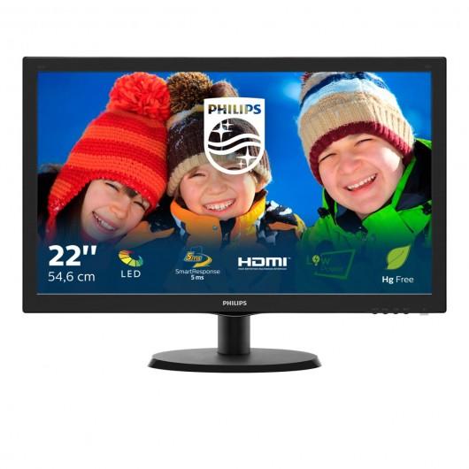 Philips V Line Monitor LCD con SmartControl Lite 223V5LHSB 00