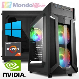 PC GAMING AMD RYZEN 7 3700X 8 Core - Ram 32 GB - SSD M.2 500 GB - HD 2 TB - nVidia GTX 1660Ti 6 GB - Windows 10 Pro