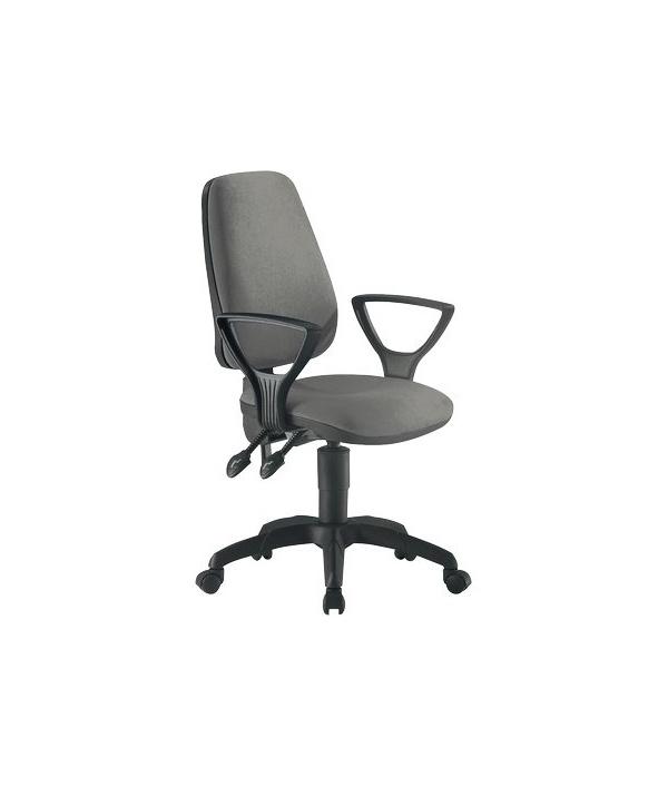 Sedia ergonomica valzer ignifuga unisit grigio tcnasyb for Sedia trust