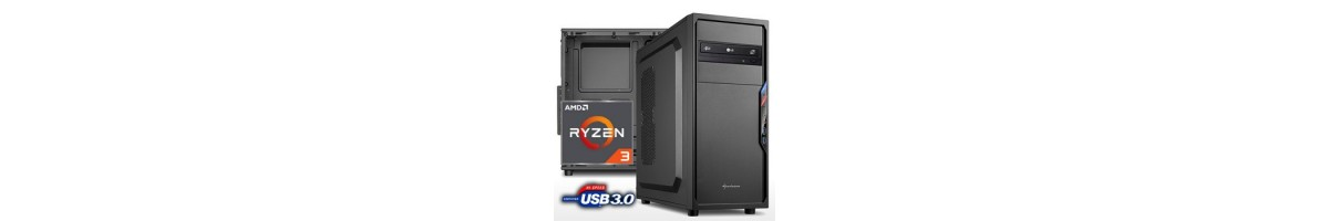 PC linea OFFICE AMD Ryzen 3