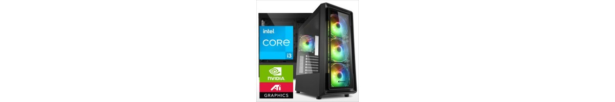 PC linea GAMING Intel i3
