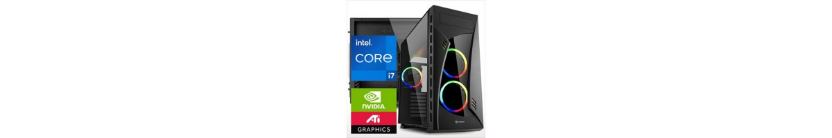 PC linea GAMING Intel i7