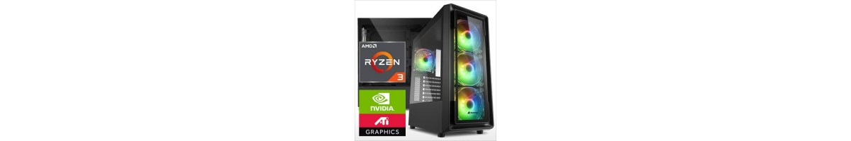 PC linea GAMING AMD Ryzen 3