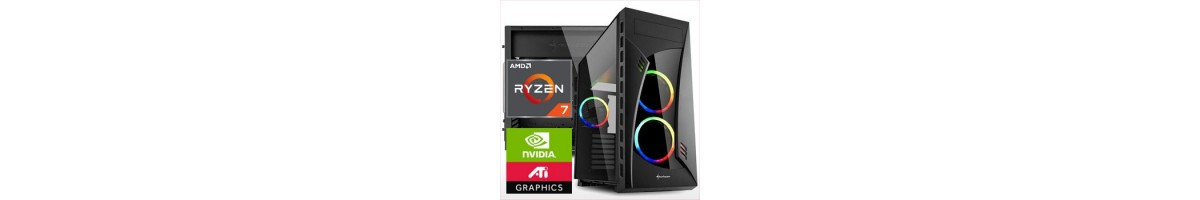 PC linea GAMING AMD Ryzen 7