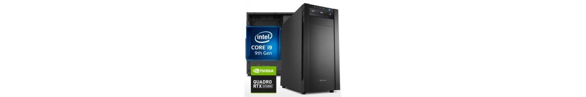 PC linea WORKSTATION Intel i9
