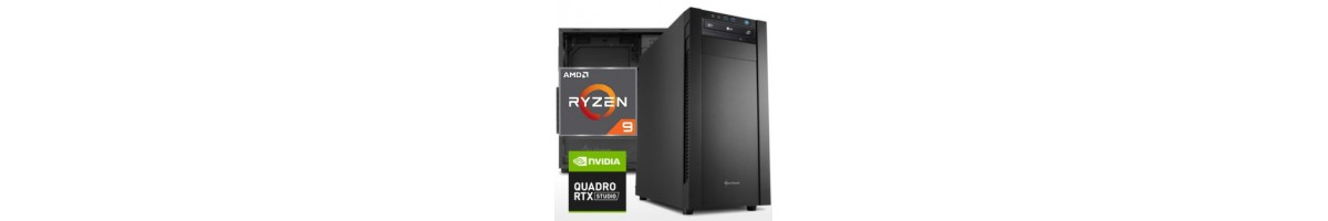 PC linea WORKSTATION AMD Ryzen 9
